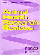 Animal Health Research Reviews
